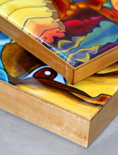 Canada Birch Wood Cradled Panels For Art Projects