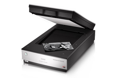 Scanning negatives, slides or small prints - EPSON PERFECTION V750 PRO